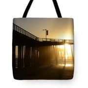 Pismo Beach Pier California 8 Tote Bag