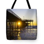 Pismo Beach Pier  Tote Bag
