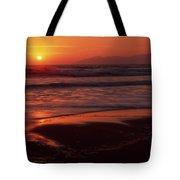 Pismo Beach Sunset Tote Bag