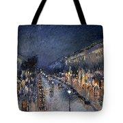 Pissarro: Paris At Night Tote Bag