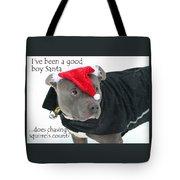 Pit Bull Christmas Two Tote Bag