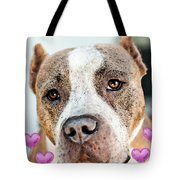 Pit Bull Dog - Pure Love Tote Bag