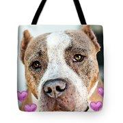 Pit Bull Dog - Pure Love Tote Bag