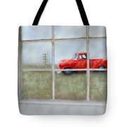 Pit Road--fire And Ice  Tote Bag