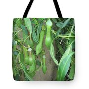 Pitcher Plant Madness Tote Bag