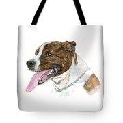 Pittbull Dog Tote Bag
