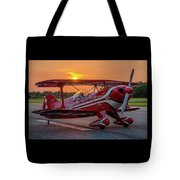 Pitts Sunset Tote Bag