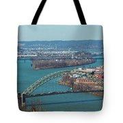 Pittsburg City Skyline Tote Bag