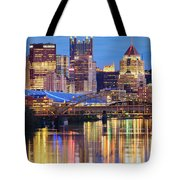 Pittsburgh 2 Tote Bag by Emmanuel Panagiotakis