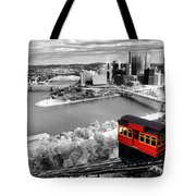 Pittsburgh From The Incline Tote Bag