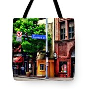 Pittsburgh Pa - Liberty Ave And Smithfield Street Tote Bag