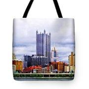 Pittsburgh Pa Skyline Tote Bag