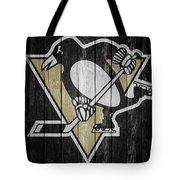 Pittsburgh Penguins Barn Door Tote Bag