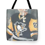 Pittsburgh Penguins Sidney Crosby 3 Tote Bag