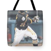 Pittsburgh Pirates Andrew Mccutchen 3 Tote Bag