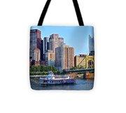 Pittsburgh River Cruise  Tote Bag