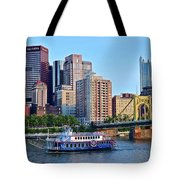 Pittsburgh River Cruise  Tote Bag