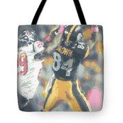 Pittsburgh Steelers Antonio Brown 2 Tote Bag