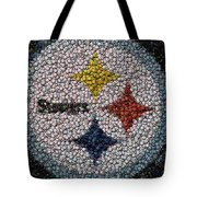 Pittsburgh Steelers  Bottle Cap Mosaic Tote Bag