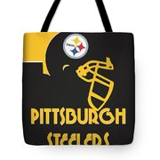 Pittsburgh Steelers Team Vintage Art Tote Bag