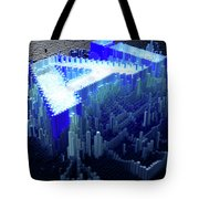 Pixel Artificial Intelligence Tote Bag