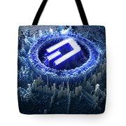 Pixel Dash Concept Tote Bag