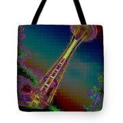 Pixel Needle Tote Bag