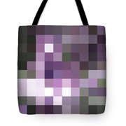 Pixelated Tote Bag