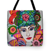 Pixie Girl Tote Bag