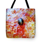 Pizza Pie With Olive Tote Bag