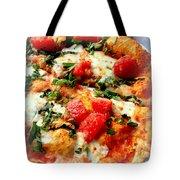 Pizza San Juan  Tote Bag