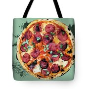 Pizza - The Corleone Special Tote Bag