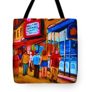 Pizza To Go Tote Bag