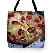 Pizzas Here Tote Bag