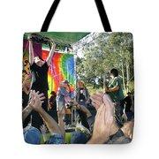 Pk Leads Jefferson Starship Photo Tote Bag