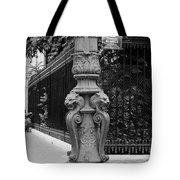 Place Charles De Gaulle - Black And White Tote Bag