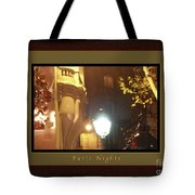 Place St Michel To Rue Saint-andre Des Arts Greeting Card And Poster Tote Bag