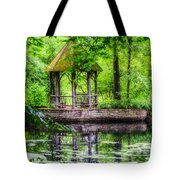 Place To Relax And Meditate  Tote Bag
