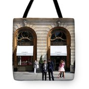 Place Vendome Paris 2 Tote Bag