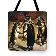Plague: Dance Of The Rats Tote Bag