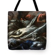 Plague In Marseilles, 1720 Tote Bag