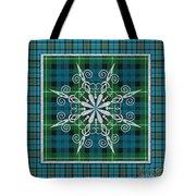 Plaid Snowflakes-jp3704 Tote Bag