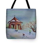 Plaisirs D'hiver Au Parc Macdonald Gardens Tote Bag