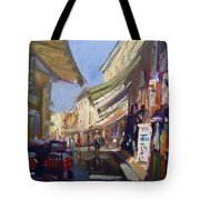 Plaka Athens Greece Tote Bag