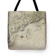 Plan For The English Garden At Peterhof Tote Bag