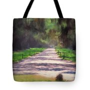 Plantation Road South Carolina Tote Bag