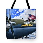 Plane - Curtiss C-46 Commando Tote Bag