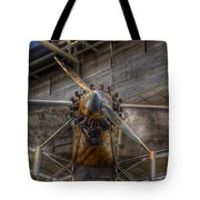 Spirit Of St Louis Propeller Airplane Tote Bag