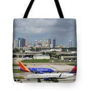 Planes By Fort Lauderdale Tote Bag