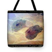Planet Art Close Encounters Tote Bag